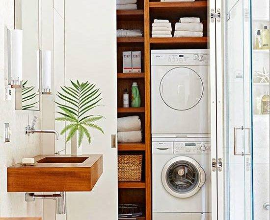 New Home Interior Design Laundry Room Storage Solutions