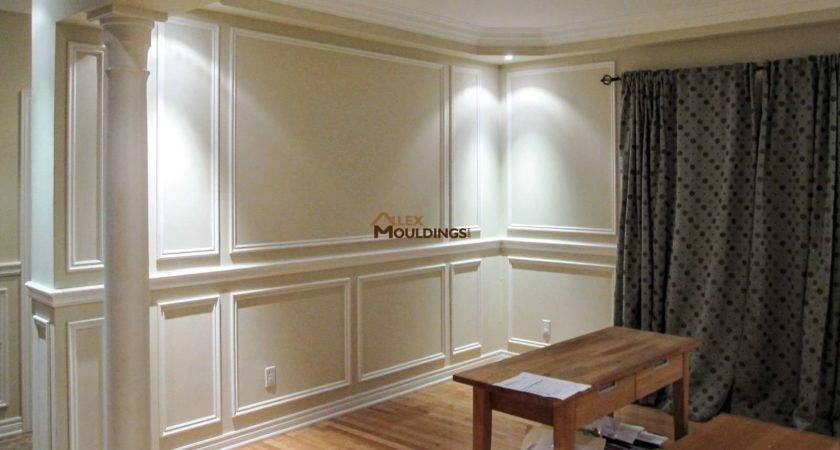 New Wall Wainscoting Home Design Ideas