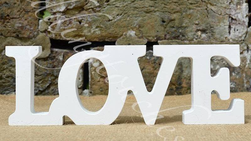 New Wooden Standing Love Letters Words Home