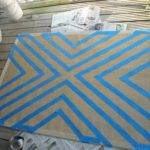 Newly Domesticated Diy Painted Rug