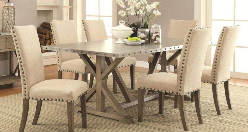 Newton Metal Top Dining Table
