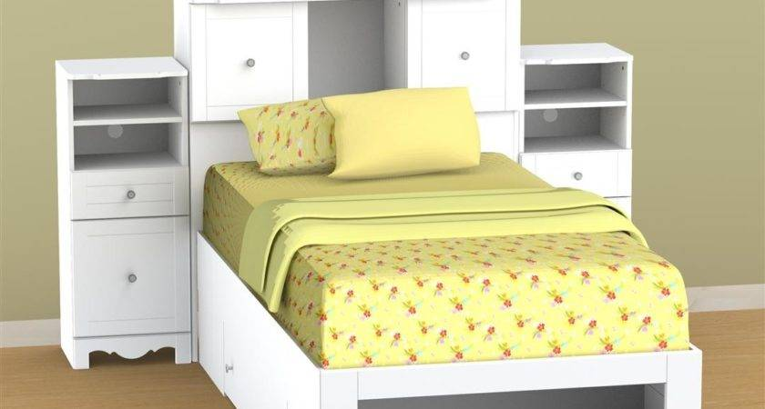 Nexera Twin Bed Storage
