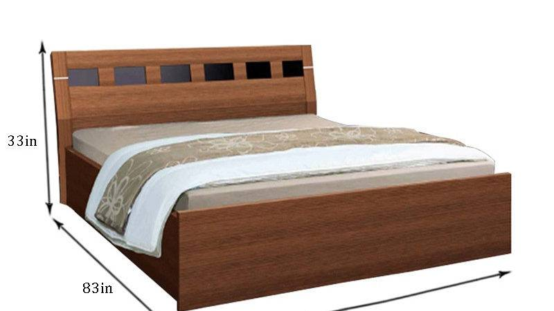 Nilkamal Reegan Queen Bed Storage