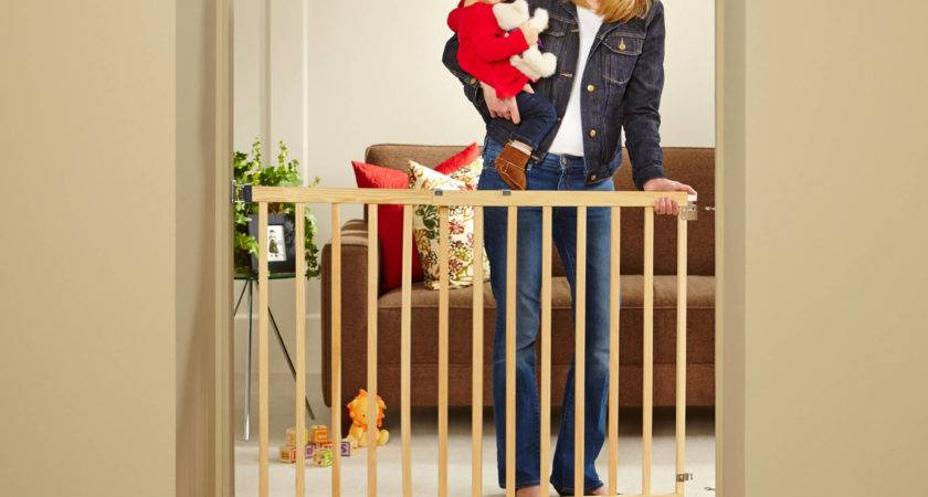 North States Tall Stairway Swing Gate Top Stairs Baby