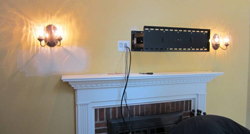 Norwalk Mount Above Fireplace Home Theater