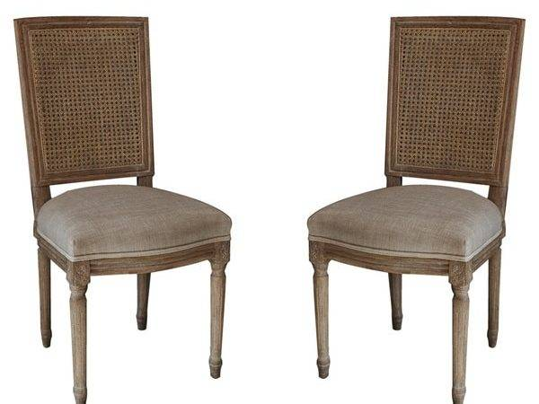 Nuloom Casual Living Weathered Vintage French Cane Back