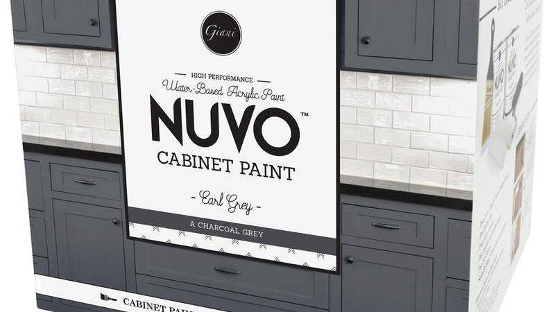 Nuvo Coconut Espresso Cabinet Paint Kit Giani Inc