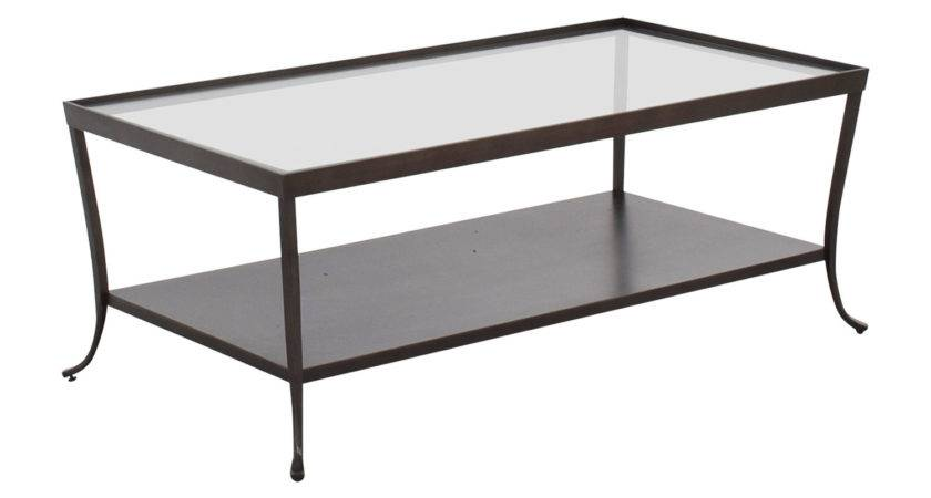 Off Glass Top Coffee Table Metal Base Tables