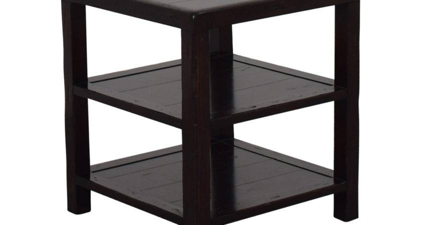 Off Pottery Barn Square Side Table Tables