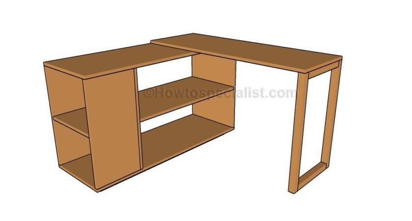 Office Desk Plans Howtospecialist Build Step