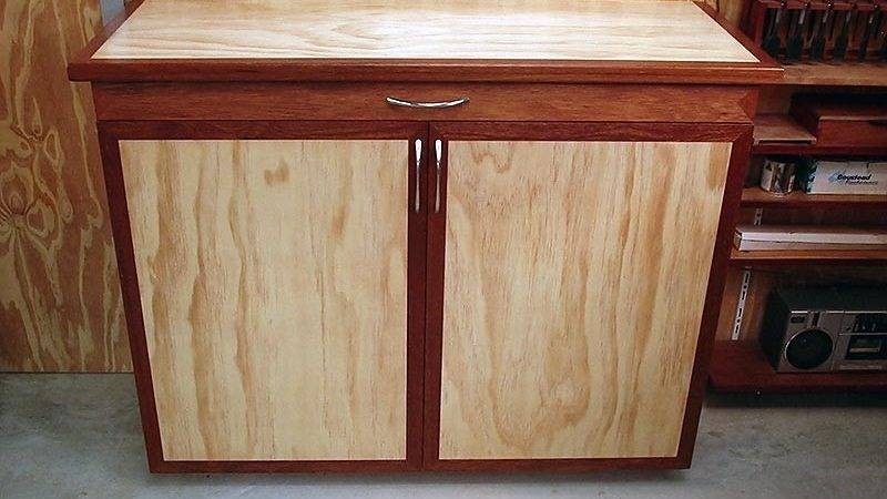 Old Kitchen Cabinets Plywood Cabinet Doors