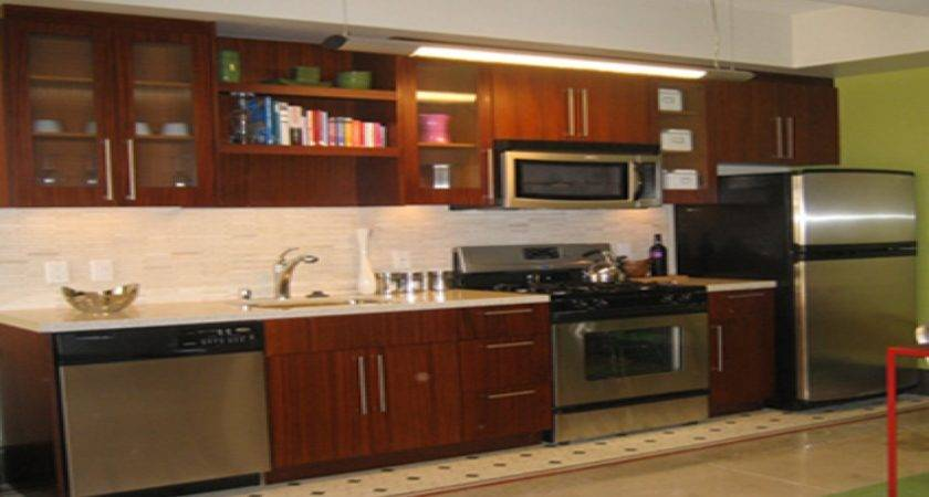 One Wall Kitchen Island Single