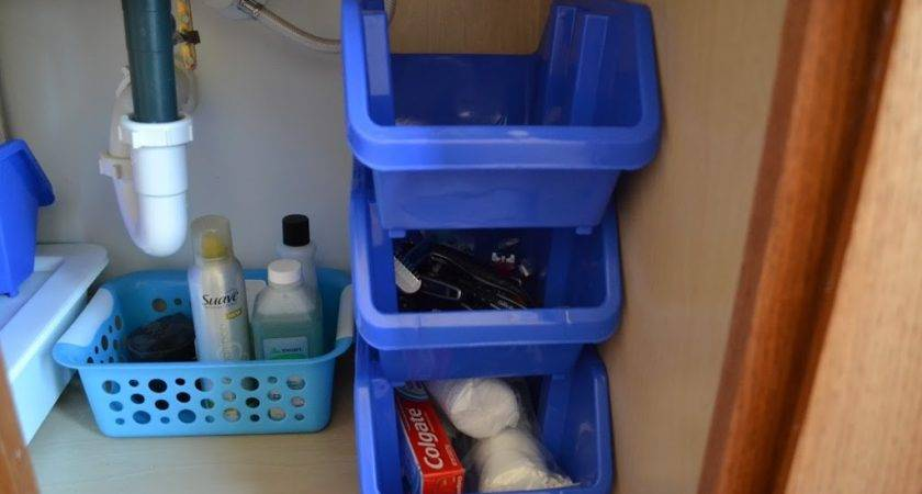 Organize Under Bathroom Sink Fruitful Home