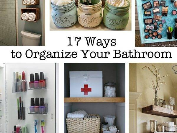 Organize Your Bathroom Get Into Tip Top Shape