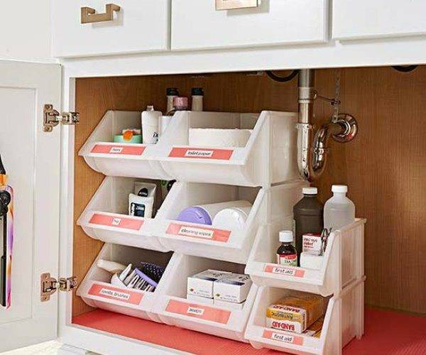 Organize Your Bathroom Sweeter Still