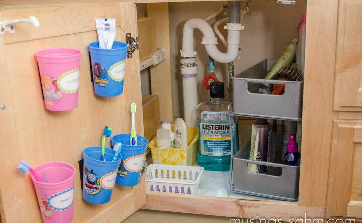 Organized Our Bathroom Vanity Living Well Mom