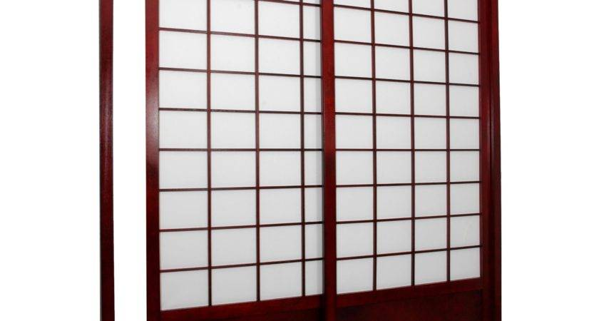 Oriental Furniture Shoji Double Sided Sliding Door Kit
