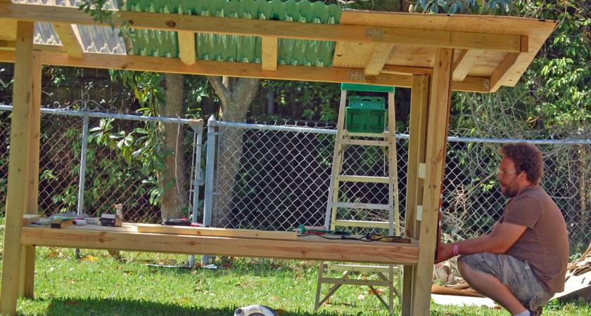 Our Diy Chicken Coop Recycled Materials Cage Mom