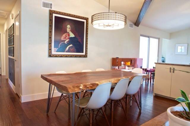 Our Diy Live Edge Dining Room Table Remodelicious