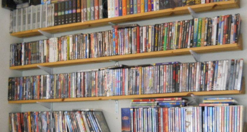 Our Dvd Blu Ray Collection Custom Shelves Came Out