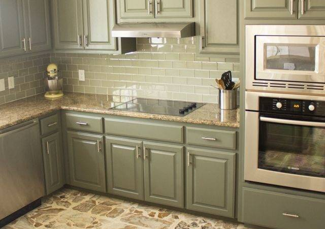 Our Exciting Kitchen Makeover Before After Cabinet