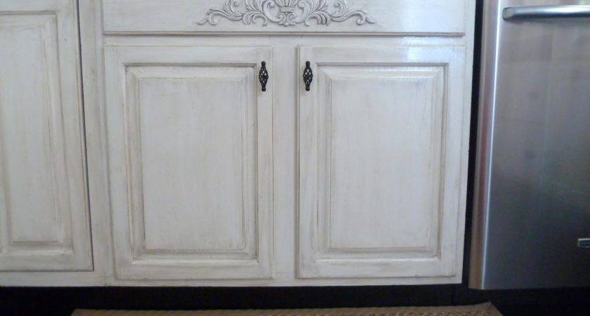 Our Fifth House Distressed Kitchen Cabinets