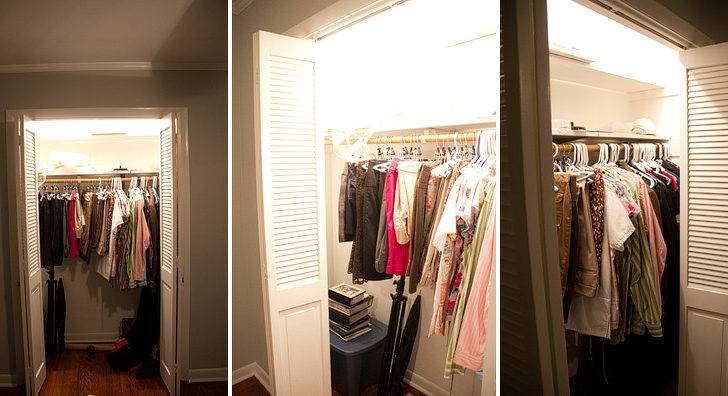 Our Master Closet Renovation Before After Rachael