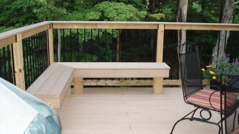 Outdoor Corner Bench Ideas Which Perfect