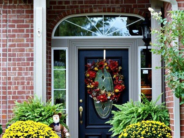 Outdoor Fall Decorating Ideas Dimples Tangles