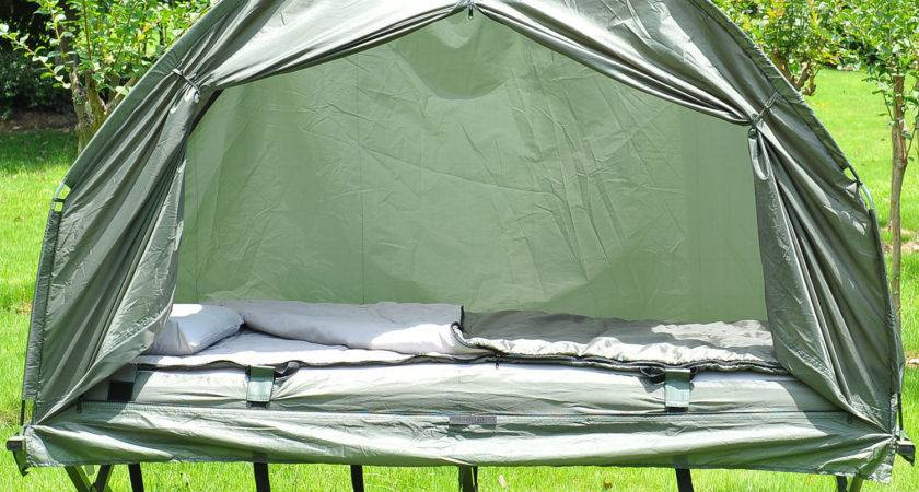 Outdoor Person Folding Tent Elevated Camping Cot Air
