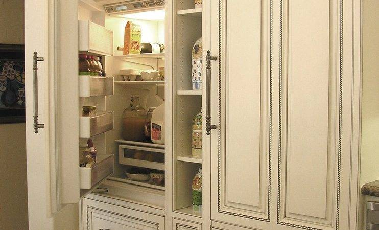 Outdoor Refrigerator Cabinet Kitchen Traditional