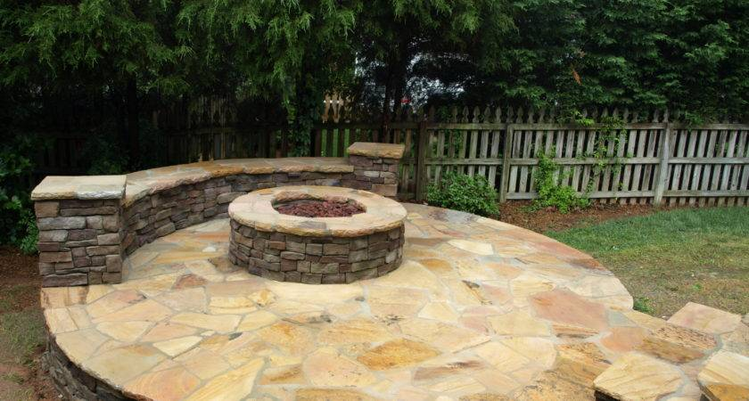 Outdoor Stone Firepits Charlotte Masters Group