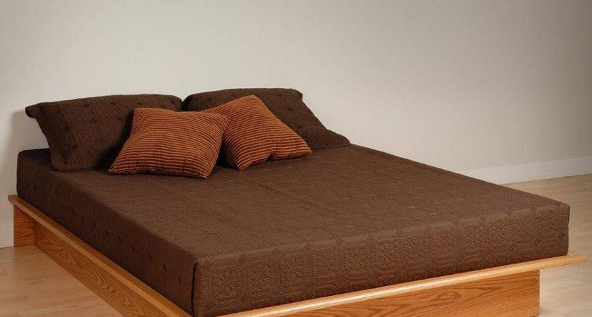 Outstanding Platform Bed Headboard Frame Without