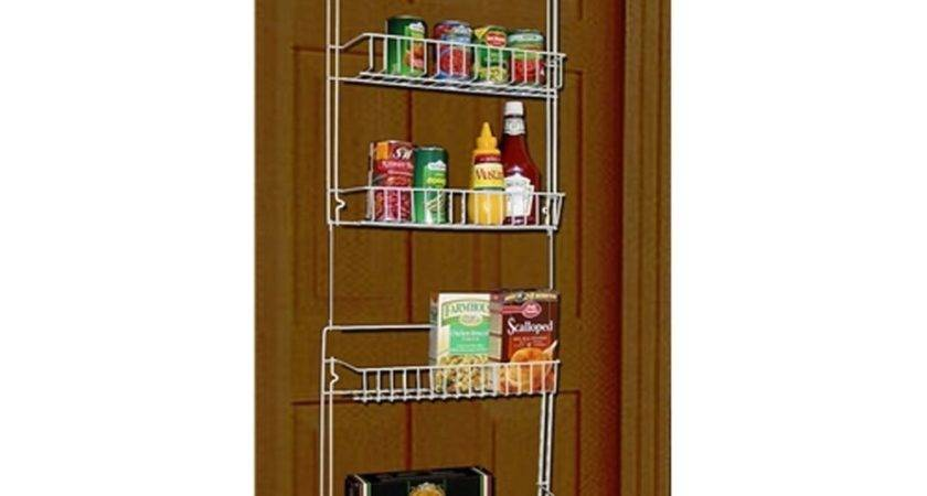 Over Door Spice Rack Storage Organizer Shelf Hanging