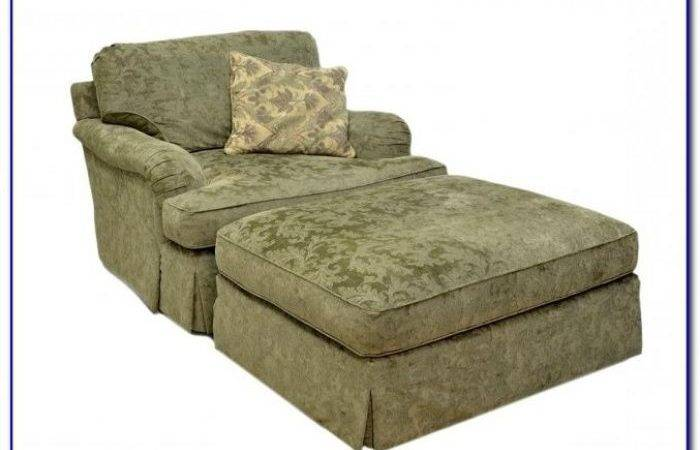Oversized Chair Ottoman Slipcovers Chairs Home