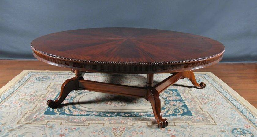 Oversized Foot Round Dining Table
