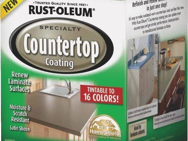 Pack Rustoleum Deep Base Satin Laminate Countertop