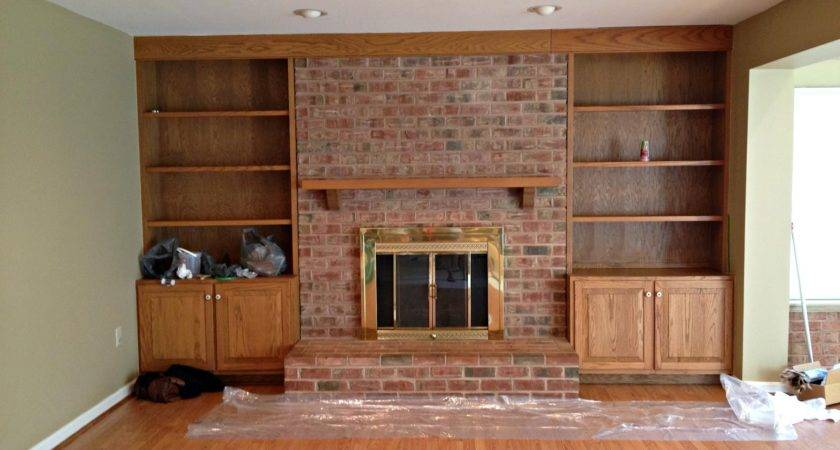 Paint Brick Fireplace Infarrantly Creative