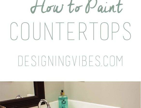 Paint Cultured Marble Countertops Diy