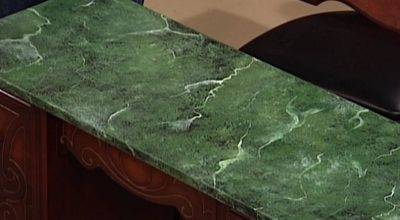 Paint Faux Marble Surface Tos Diy