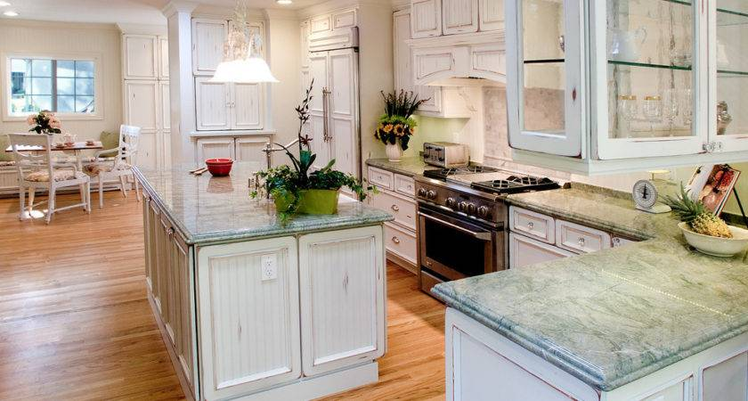 Paint Kitchen Cabinets Distressed White