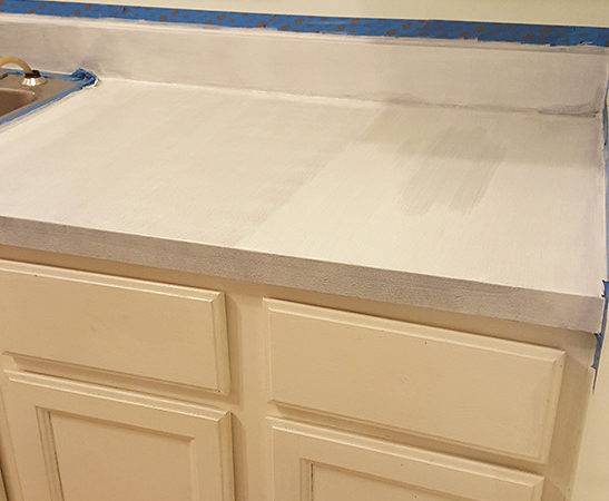 Paint Kitchen Countertops