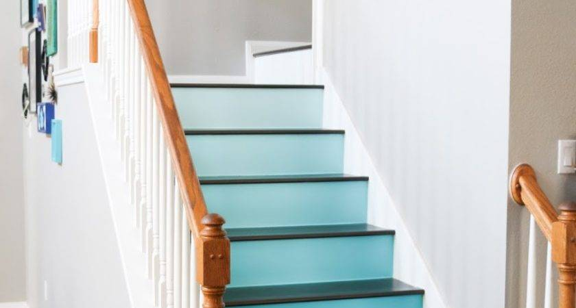 Paint Ombre Stairs Kailo Chic Life