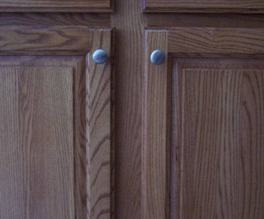 Paint Real Wood Particle Board Cabinets