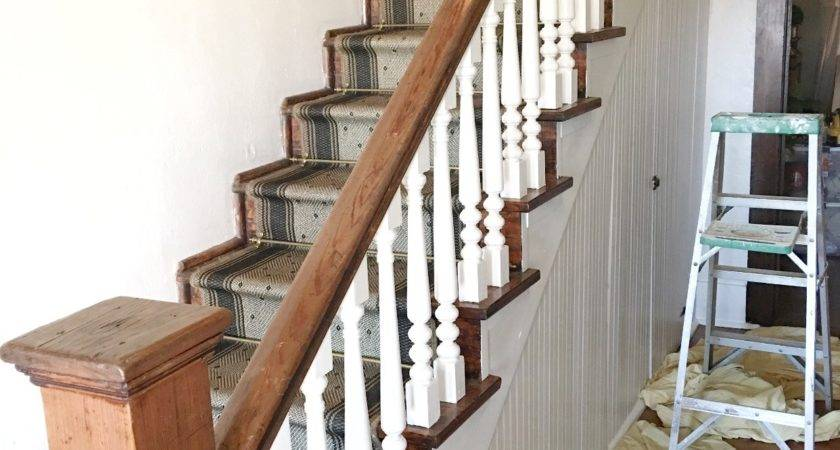 Paint Stair Spindles Junque Cottage