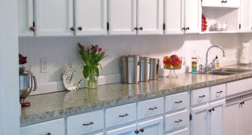 Paint Your Countertops Look Like Granite