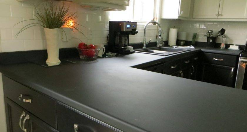 Paint Your Kitchen Countertops Chalkboard