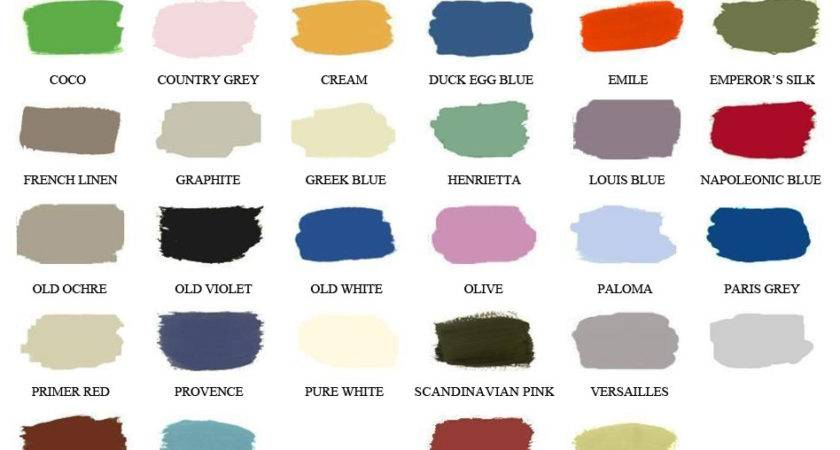 Painted Attic Welcome Pages Color Chart