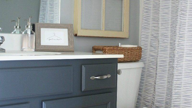 Painted Bathroom Cabinets Lady Laura Kate