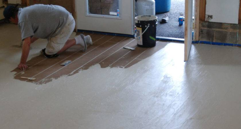 Painted Concrete Floor Paint